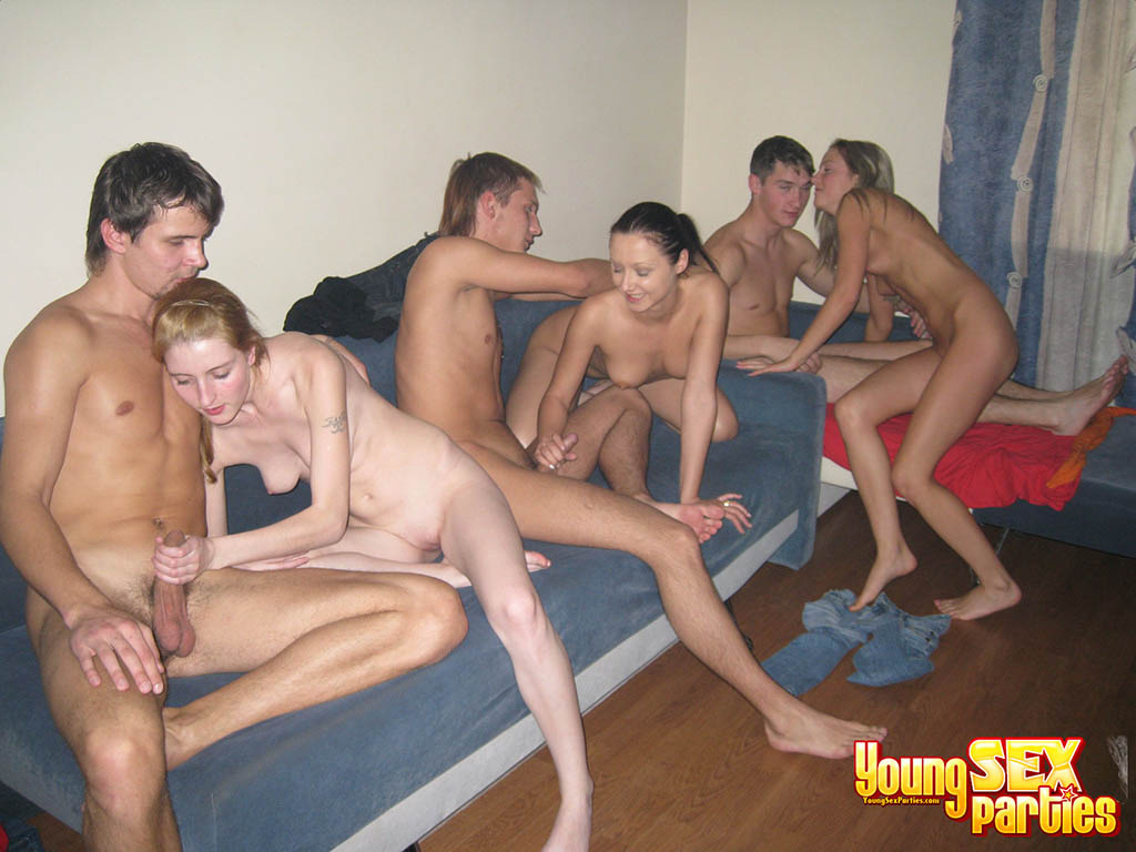 Group orgy young