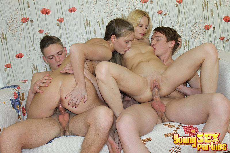 Alaina Chanel Teen Hot Girls Perform In Group Sex Tape Photo